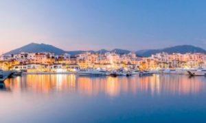 Puerto Banus port in Spain